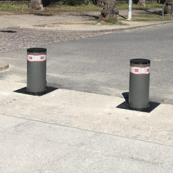 Zapory parkingowe