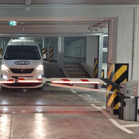 Systemy parkingowe szlabany